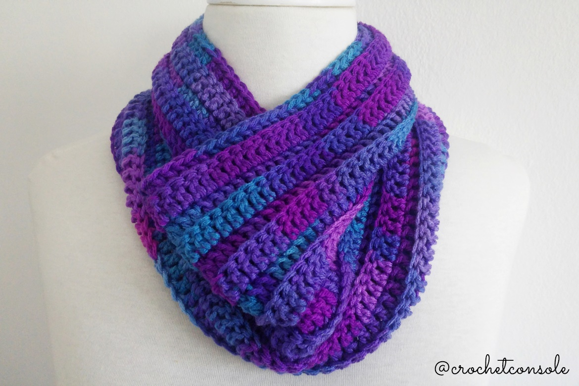 Cuello con relieve a crochet-Crochet con Sole